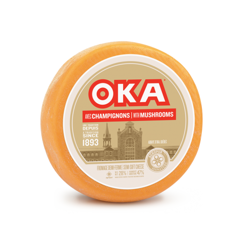 OKA avec champignons  | OKA with Mushrooms